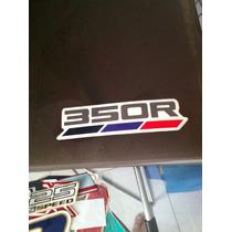 Raro Adesivo Honda Xlx 350r Decalque Envio Por Carta Registr