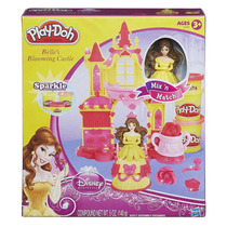 Play Doh - Disney Castelo Magico Princesas Bela - Hasbro