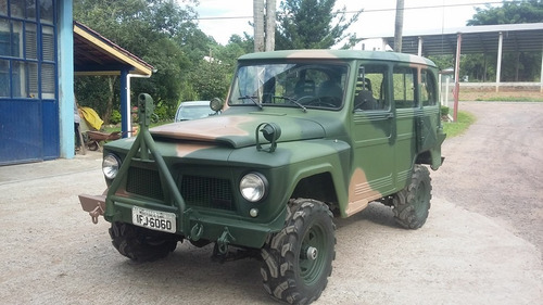 RURAL WILLYS 4X4 MILITAR