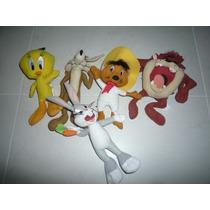 Lote Bonecos Pelucia Looney Tunes Mc Donalds