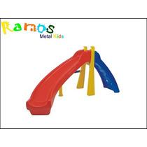 Escorregador Curvo - Brinquedos De Plastico - Playground