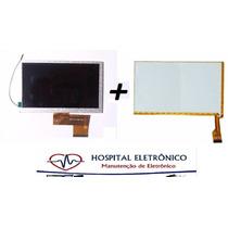 Tela Touch + Display Tablet Dl Ped K71 7 Polegadas