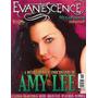 Revista Pôster Evanescence Raríssima = Amy Lee! 52cm X 81cm!