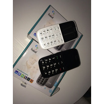 Celular Para Idoso,def Visual,teclado Em Braille Tecla Sos.