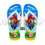 Sandálias Chinelo Havaianas Personalizadas Super Mario Bros