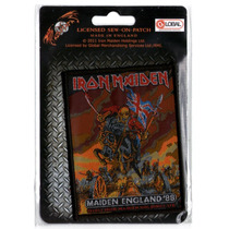 Patch Tecido - Iron Maiden - Maiden England