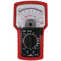 Multimetro Analogico Profissional Icel Ma-50 50ua Obedece Às