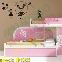 Adesivo Decorativo Mod D125 - Crianças Balão Pipa Corda