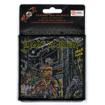 Patch Tecido - Iron Maiden - Somewhere In Time 365 Importado