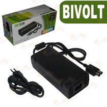 Fonte Xbox 360 Slim Original Bivolt 110v 220v 135w + Nota