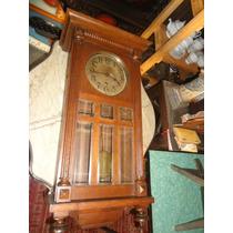 Relógio De Parede Antigo Junghans Carrilhão
