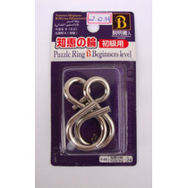 Kit 3 Quebra Cabeça Japonês De Metal - Puzzles