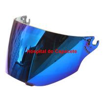 Viseira Bieffe 3 Sport V3 Espelhada Azul Original Bieffe