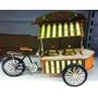 Miniatura Retro Vintage Bicicleta Antiga Sorveteria