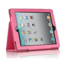 Capa Case Executiva Livro P/ipad 2,3(new Ipad) 4 Retina Pink