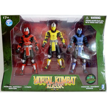 Mortal Kombat Klassic - Smoke - Cyrax - Sektor - Jazwares