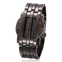 Relógio Metal Titanium Matrix. Relógio De Aço. Super Led