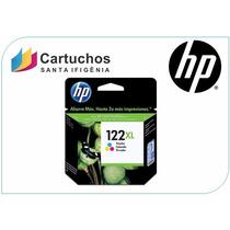 Cartucho Original Hp (bombom) 122xl Colorido