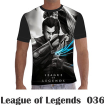 Camisa Camiseta Games League Of Legends Lol 036