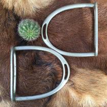 Estribo 254 Alpaca Metal Branco - Excelente Estado -raridade