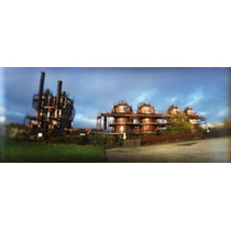 Poster (69 X 23 Cm) Old Oil Refinery Gasworks Park Seattle
