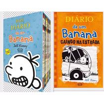 Box Diário De Um Banana Jeff Kinney 9 Livros - Frete Grátis