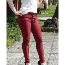 Calça Legging Burgundy Importada. Jeans Skinny