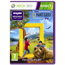 Jogo Lacrado Kinect Nat Geo Tv Para Xbox 360