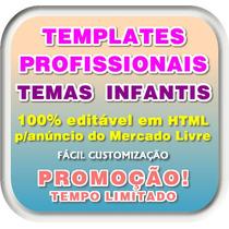 Template Html Temas Infantis Para Anúncios No Mercado Livre