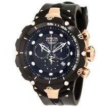 Relógio Invicta 1524 Venom 2 Reserve Ouro Rose Frete Grátis