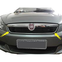 Friso Cromado Grade Superior Fiat Grand Siena 2014