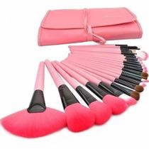 Kit 24 Pinceis De Maquiagem = Makeup For You Sigma Mac