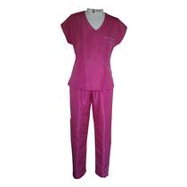 Conjunto Pijama Médico Cirúrgico Feminino Rosa Pink