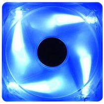 Cooler Fan 120 Mm 12 Cm Akasa Cristal Azul Com Led Azul
