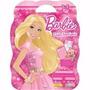 Maleta 8 Livros Infantil Princesa Menina Barbie + Dvd Brinde