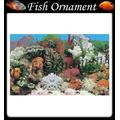 Painel Fundo De Aquario Boyu J01 60cm Fish Ornament