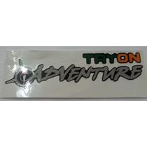 Emblema Adesivo Tryon Adventure Strada Palio Pequeno
