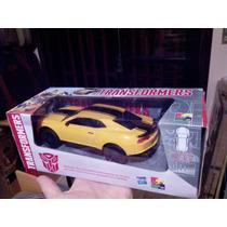 Carro Camaro Amarelo Bumble Bee Controle Remoto Transformers