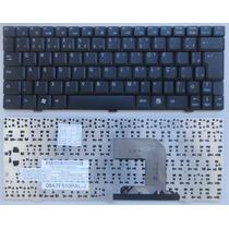 Teclado Netbook Philco Phn 10b Novo Preto Abnt2 Com Ç