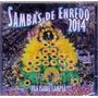 Cd Sambas De Enredo 2014 - Vila Isabel Campeã - Novo***