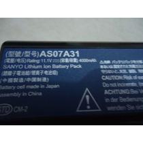 Bateria As07a31 P/ Notebook Acer Aspire 4520 Séries. Aprovei