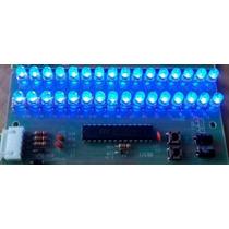 Audio Vu 2 Canais Digital 32 Led 5mm Microcontrolado