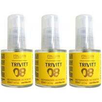 Reparador De Pontas Trivitt Nº 8 Da Itallian Hairtech