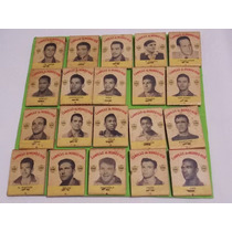 Rara Coleção De Caixas Fósforo Brasil Campeão Do Mundo 1958