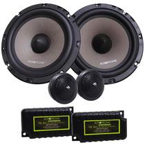 Kit 2 Vias Ks 6.2 Audiophonic - 130w Rms (par) 6 Polegadas