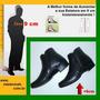 Sapato Com Salto Invisivel 9cm Mistermah Ziper Ref.2014