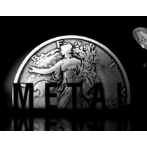 Metal: High Impact Coin Magic Dvd Ellusionist Mágica Moedas