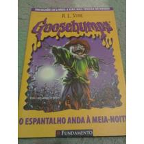 Livro Goosebumps - O Espantalho Anda A Meia-noite