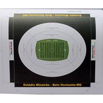Maquete Do Estádio Do Mineirão - Belo Horizonte Para Montar