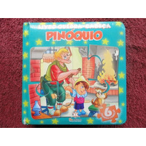 Livro Quebra - Cabeça - Pinóquio - Infantil